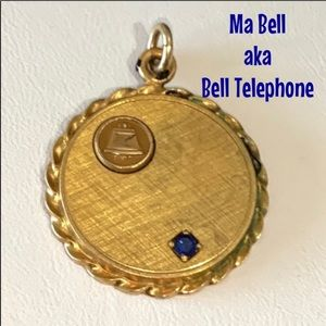 GP BELL TELEPHONE EMPLOYEE RECOGNITION PIN